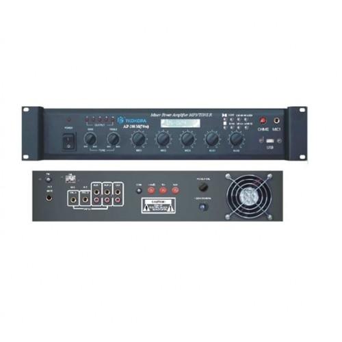 5 входов усилвател-mixer AP-600M