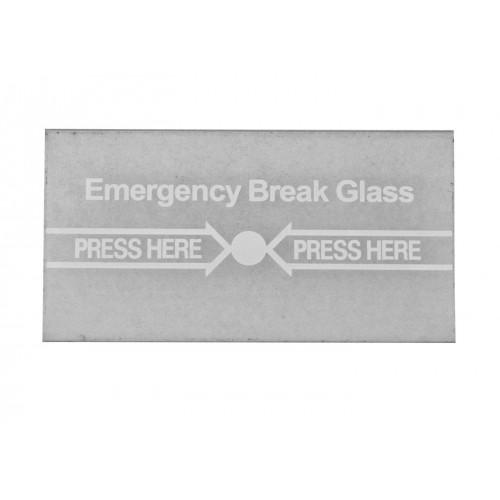 Стъкло за авариен бутон CPK-860-G