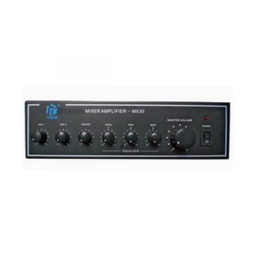 3 входов усилвател-mixer MX-30W