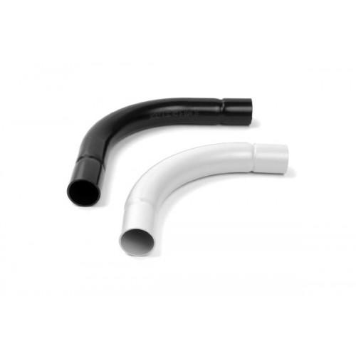 PVC 90° съединител/коляно за твърда тръба с диаметър 25mm