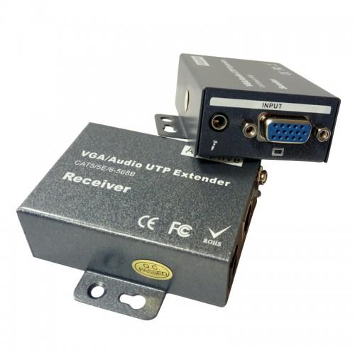 VGA и аудио удължител TT-N802A