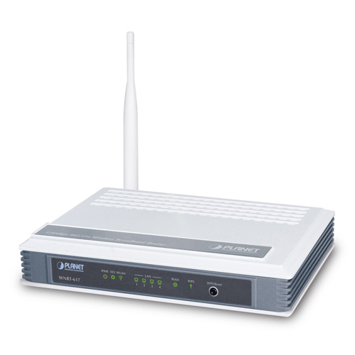 150Mbps 802.11n Wireless Broadband Router WNRT-617