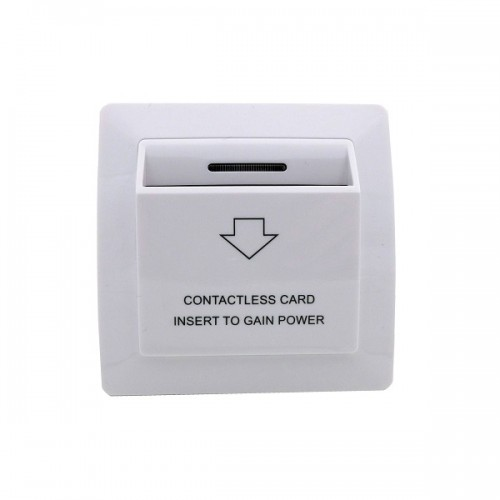 Енергоспестяващ ключ за работа с карти 13,56MHz за хотелска система T86M1Y