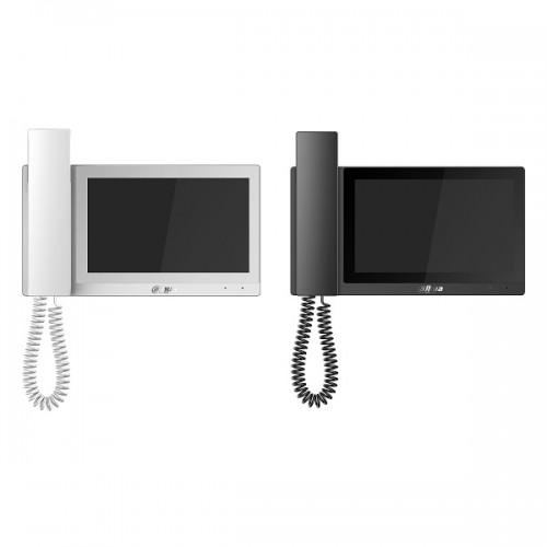 7-инчов цветен IP LCD капацитивен touch монитор VTH5221EW-H POE White