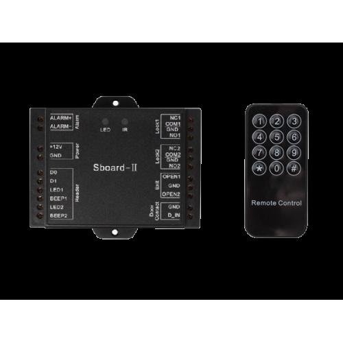 Самостоятелен контролер за едностранен контрол на достъпа на две врати Sboard-2
