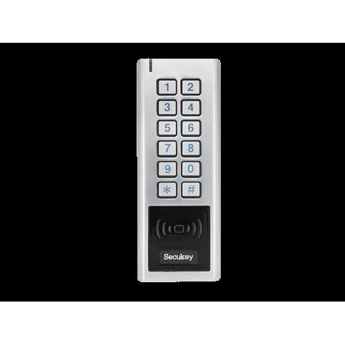 Мултиформатен водоустойчив безконтактен четец 125kHz/13.56MHz с програмируема клавиатура  SK5-RX