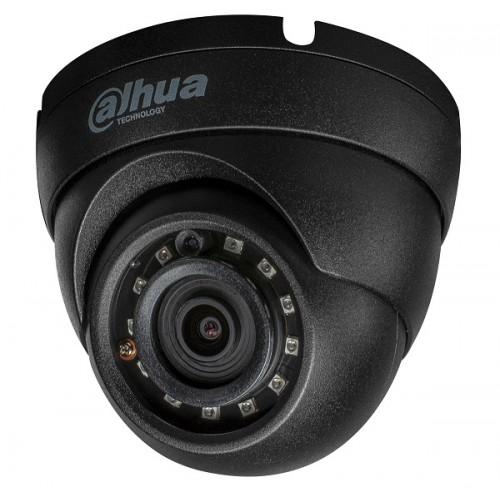 Камера dome IP, Eyeball, 2MP, 2.8mm, черна IPC-HDW1230S-0280B-BLACK